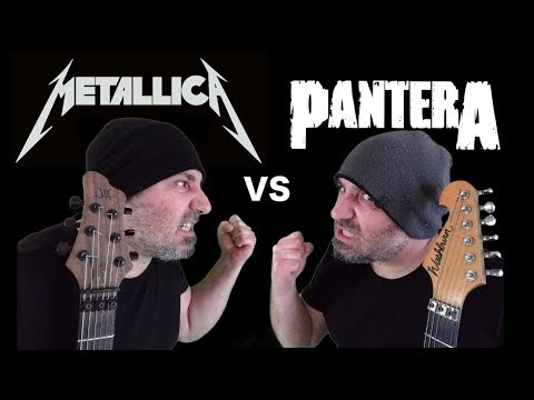 Metallica VS Pantera (Guitar Riffs Battle)