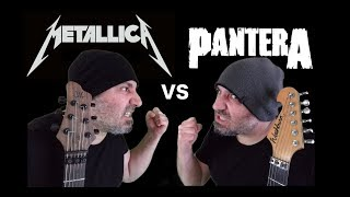 Metallica VS Pantera (Guitar Riffs Battle)