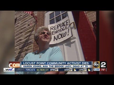 Locust Point 'Bridge Lady' dies
