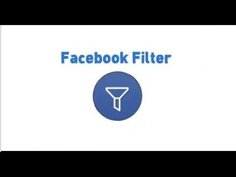 Facebook Filter by X-TECH