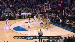 Notre Dame vs Kentucky: Willie Cauley-Stein dunk