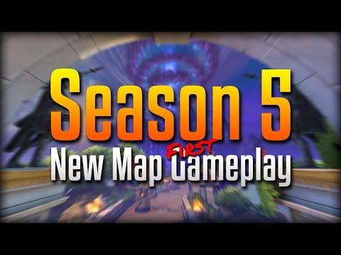 Smite: THE NEW MAP IS BEAUTIFUL!- Season 5 Ravana Solo Gameplay