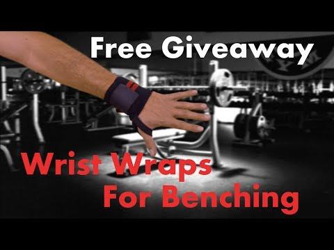 Wrist wraps for benching Giveaway! WinWristWraps.info