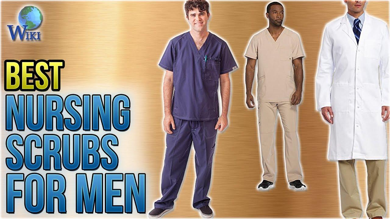 8a5991618b9 10 Best Nursing Scrubs for Men 2018 - YouTube