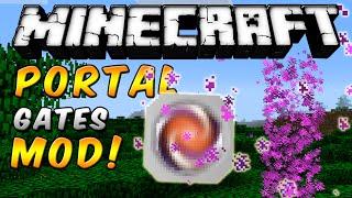 Minecraft - PORTAL GATES MOD (Desaparece de la nada!!) - ESPAÑOL TUTORIAL