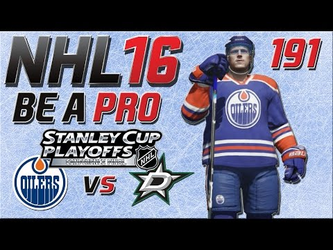 NHL 16 [Be A Pro][60fps][Deutsch][Playoffs] #191 - Edmonton Oilers - Dallas Stars ★ NHL 16