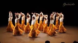 Flamenco avanzado Guajira. Fin de Curso 2016. Escuela Flamenco Lucía Guarnido