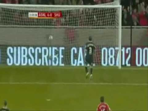 Carlos Vela- All Arsenal Goals