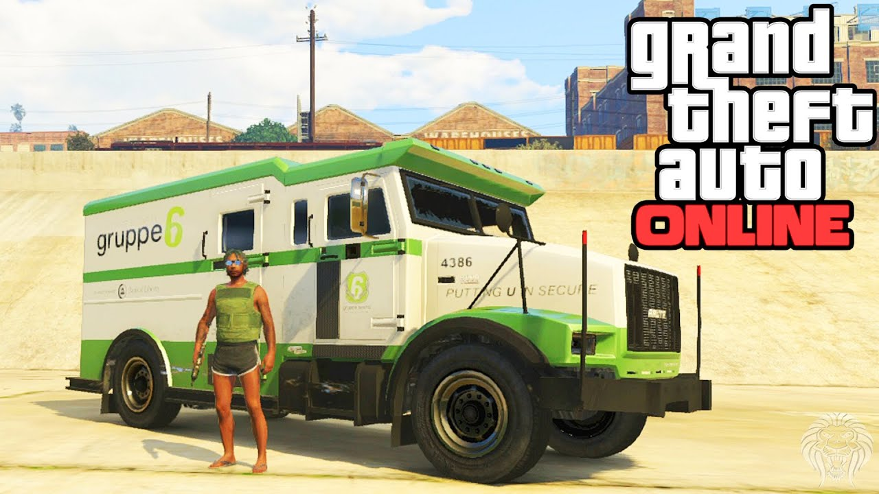 easiest way to earn money in gta 5 gta online how to rob security trucks easy way to make 7587