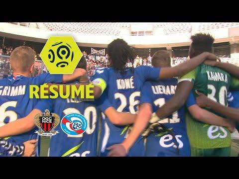 OGC Nice - RC Strasbourg Alsace (1-2)  - Résumé - (OGCN - RCSA) / 2017-18