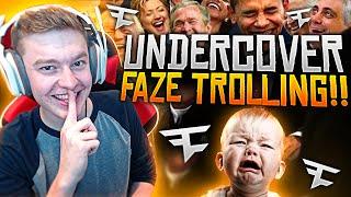Undercover Faze Trolling Reverse Gamertag