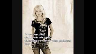 Triinu Kivilaan - Crucified (Lyrics)