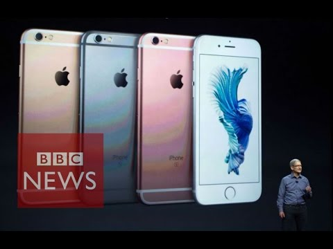 iPad Pro, app-enhanced Apple TV and 3D Touch iPhones unveiled - BBC News