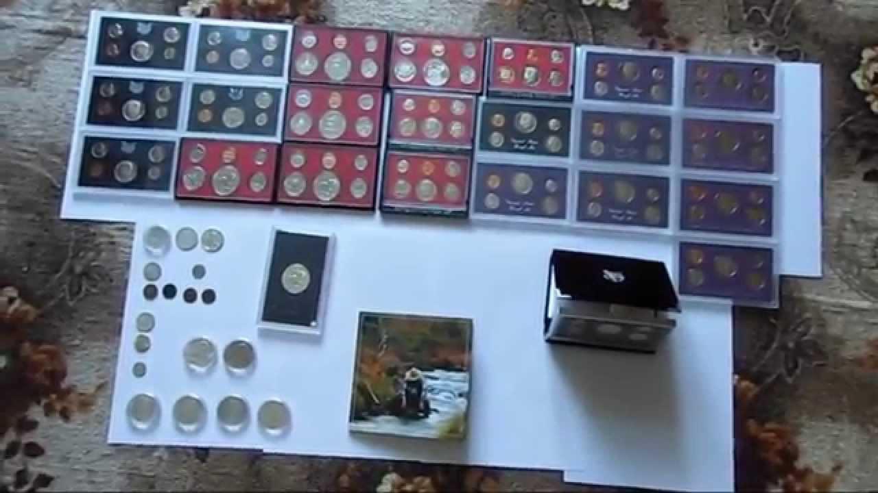 Unboxing [German][HD+] Seltene US Münzen, Proof Sets, 3 Cent Münze,...