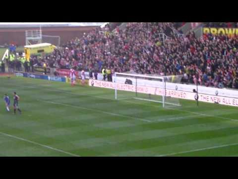 Stoke City - Peter Odemwingie Goal Celebrations