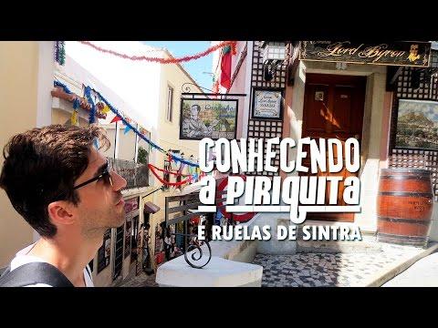 Conhecendo a Piriquita, Doces de Sintra - Cantando Fado - Vielas de Sintra | Hoje tô Aqui