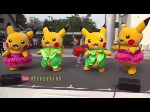 Lagu Anak Cari Pokemon Go Senam BONEKA BADUT Goyang Pokemon Lucu