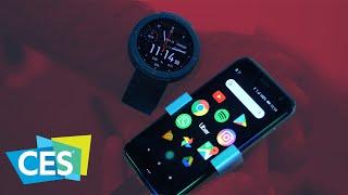 """Palm Phone: Nejmenší """"telefon"""" široko daleko - CES 2019"""