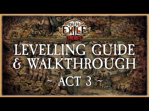 PoE - Beginner's Levelling Guide - Act 3  |  Kay's Spectre Summoner