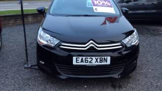 2012 citroen new c4 1 6 hdi 16v vtr plus ea62 xbn at st peter s peugeot worcester