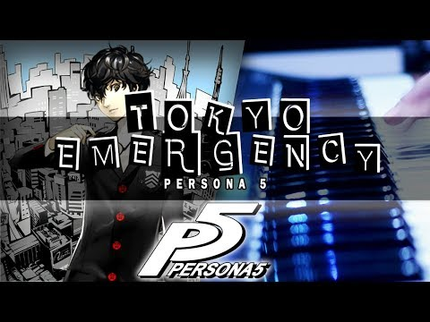 Persona 5 - Tokyo Emergency Cover | Mohmega