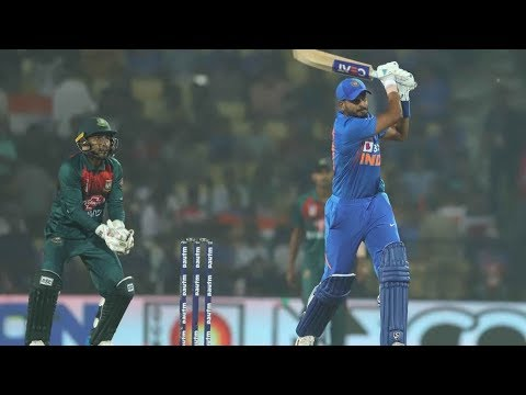 Cricbuzz LIVE: India v Bangladesh, 3rd T20I, Mid-innings show