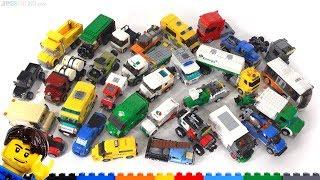 My LEGO custom Trucks, Vans, & Bus MOCs! 🚚🚐