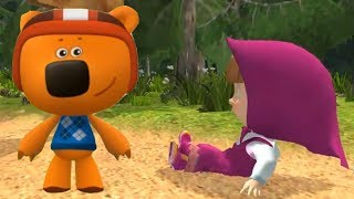 Маша и Медведь Или Мимимишки Кто Из Них Круче Бегает Игра Для Детей