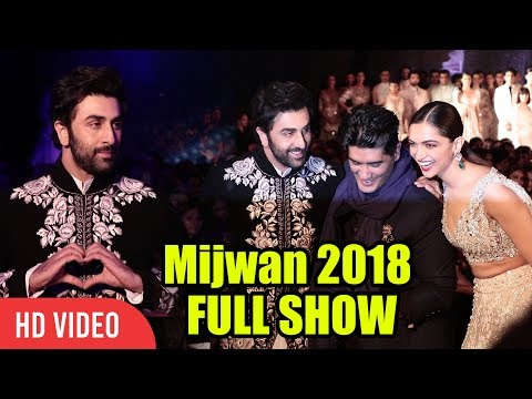 Mijwan 2018 FULL   Ranbir Kapoor, Deepika Padukone, Manish Malhotra, Shabana Azmi