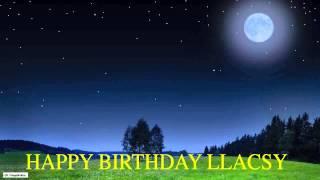 Llacsy   Moon La Luna - Happy Birthday
