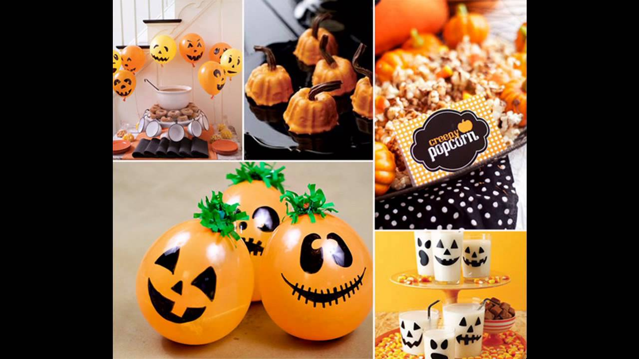 Cool Halloween baby shower decorating ideas