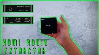 CSRET HDMI Audio Extractor Unboxing (TOSLINK/SPDIF, 2.1CH/5.1CH/7.1CH/ARC)