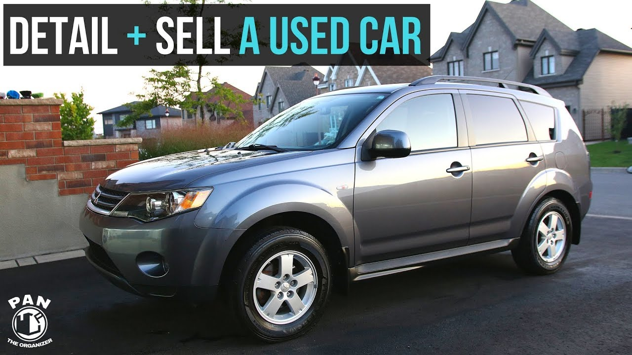 HOW TO DETAIL AND SELL A USED CAR !!! (FULL CAR DETAIL) - YouTube