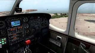 x plane 10 25 64bits app rwy 03l gclp autopilot c337