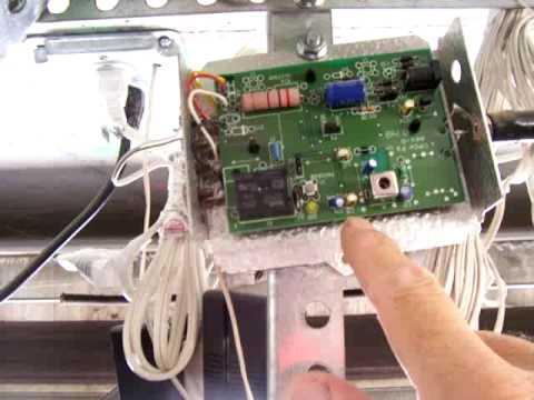 How To Set The Garage Door Remote Youtube