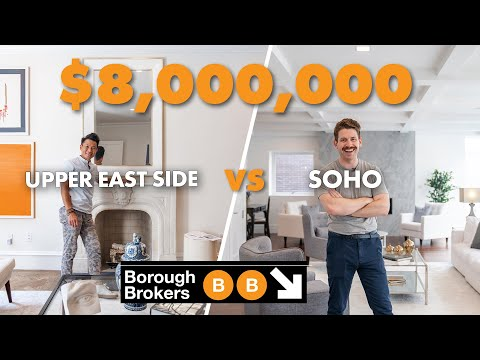 What does $8 Million Buy You in SoHo vs Upper East Side ft. Ryan Serhant | Borough Brokers