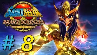 Let´s Play Saint Seiya Brave Soldiers Part 8 (German/Deutsch) - Die Stacheln des Skorpionen
