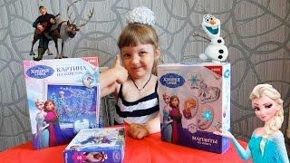 Холодное сердцеЭльза и АннаРазвивающая игра для детей Набор для творчества