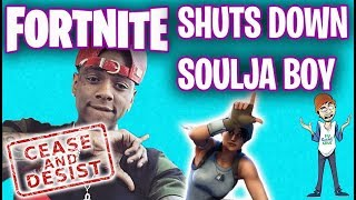 Soulja Boy Gets Shut Down By Fortnite! - FUgameNews