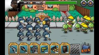 هجوم الزمبي |Swat vs Zombie