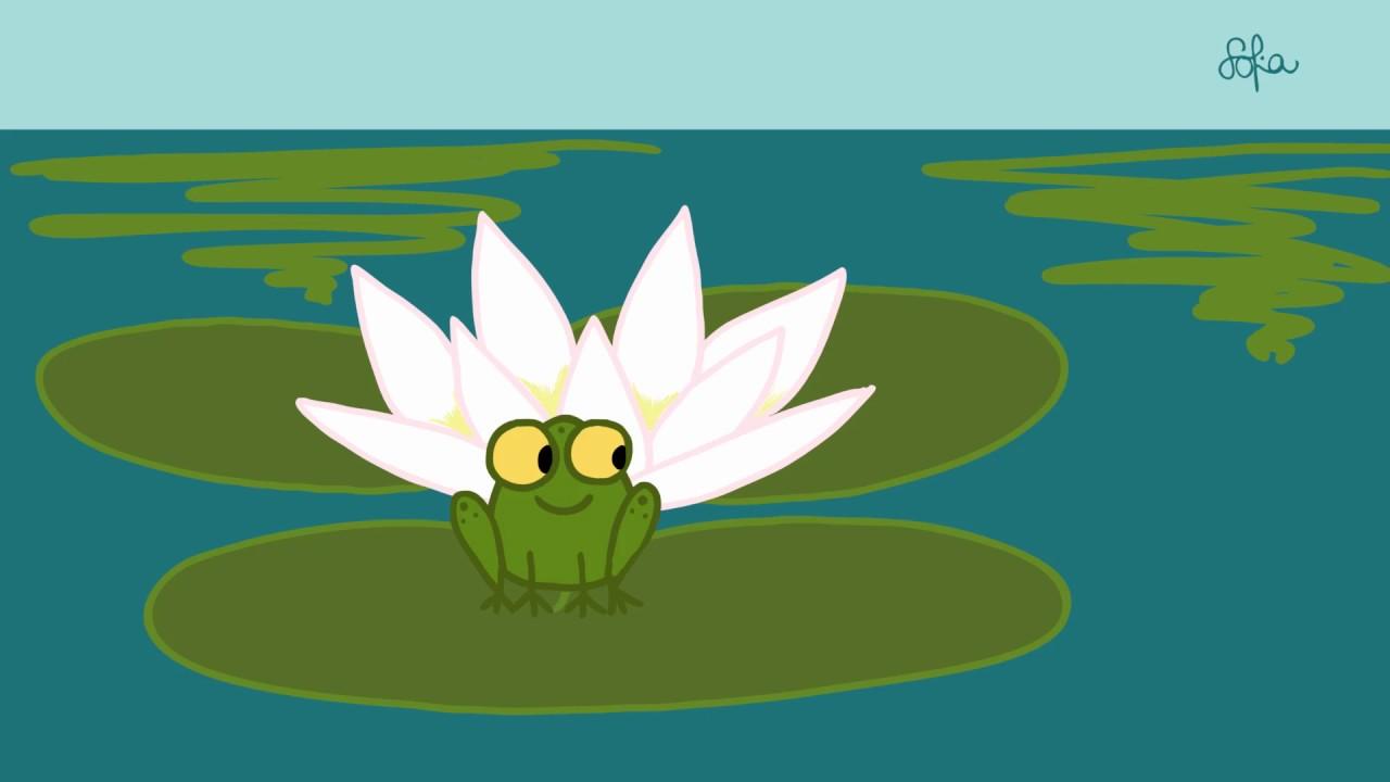 Sofia's Animation: Jumping Frog - YouTube