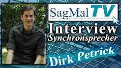 SagMalTV // Interview: Synchronsprecher Dirk Petrick