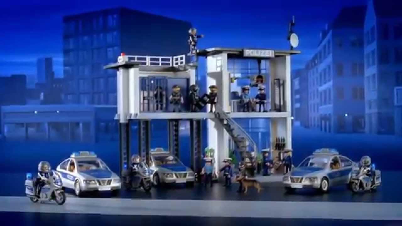 Polizei-Kommandostation 5176 & SEK-Einsatztruck 5564 - Playmobil ...