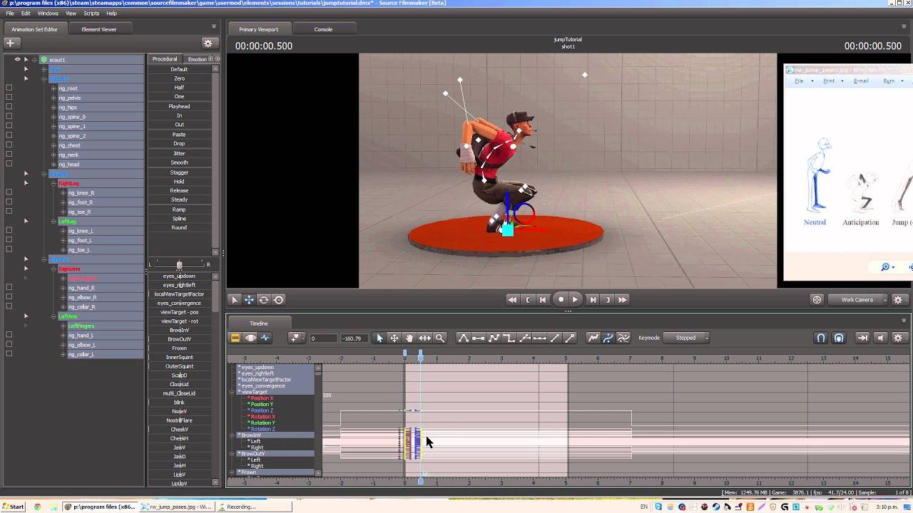 Sfm tutorial how to animate a jump youtube sfm tutorial how to animate a jump youtube baditri Gallery