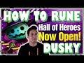 How To Rune Dusky (Dark Jack-O'-Lantern) | Summoners War