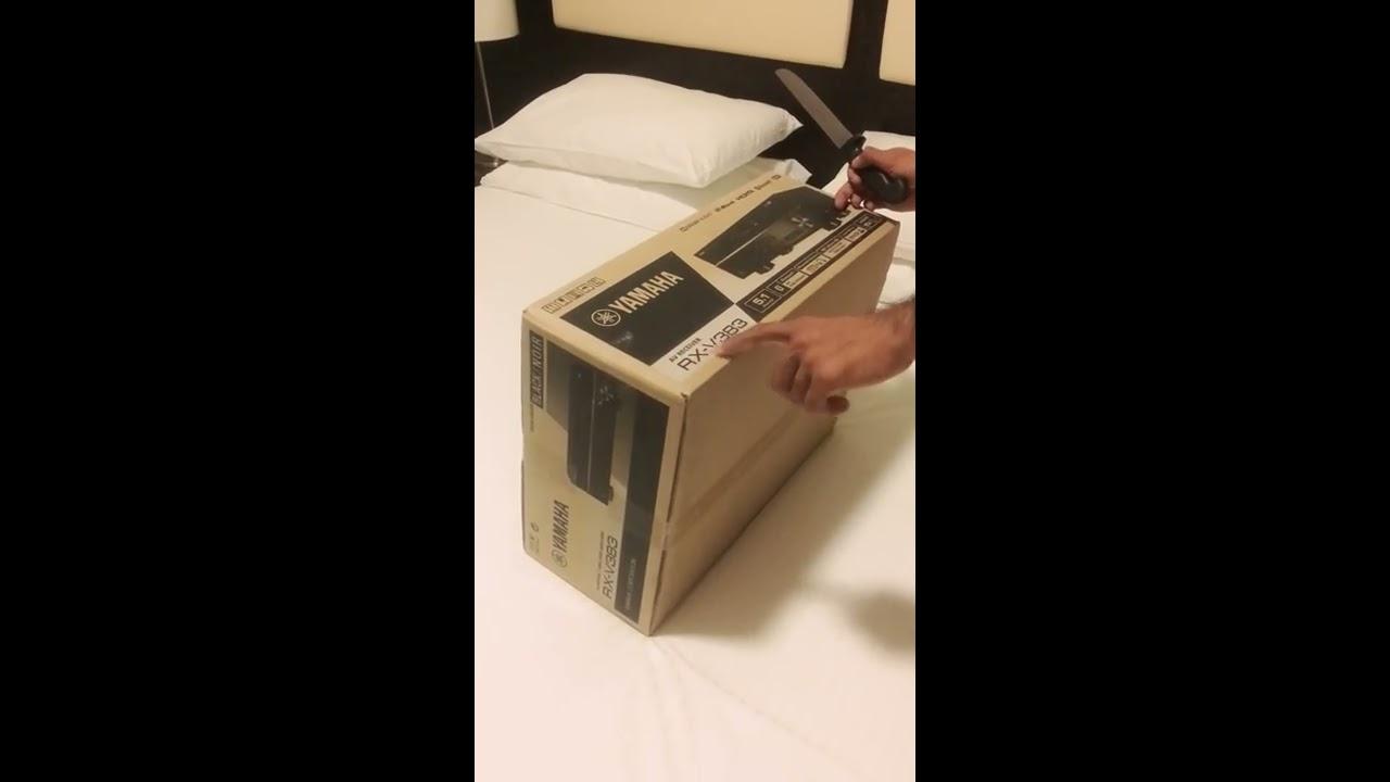 yamaha rx v383 amplifier receiver 5 1 surround sound quick. Black Bedroom Furniture Sets. Home Design Ideas
