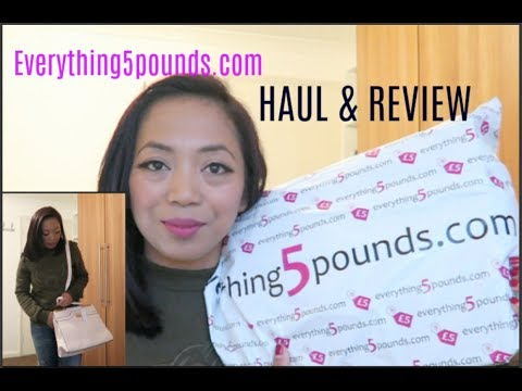 """Everything5pounds"" Haul&Review   Beli Setrikaan baru"