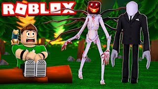 SURVIVE ROBLOX MOUNTAIN MONSTRUOSTIES!! | Roblox Camping Part 8