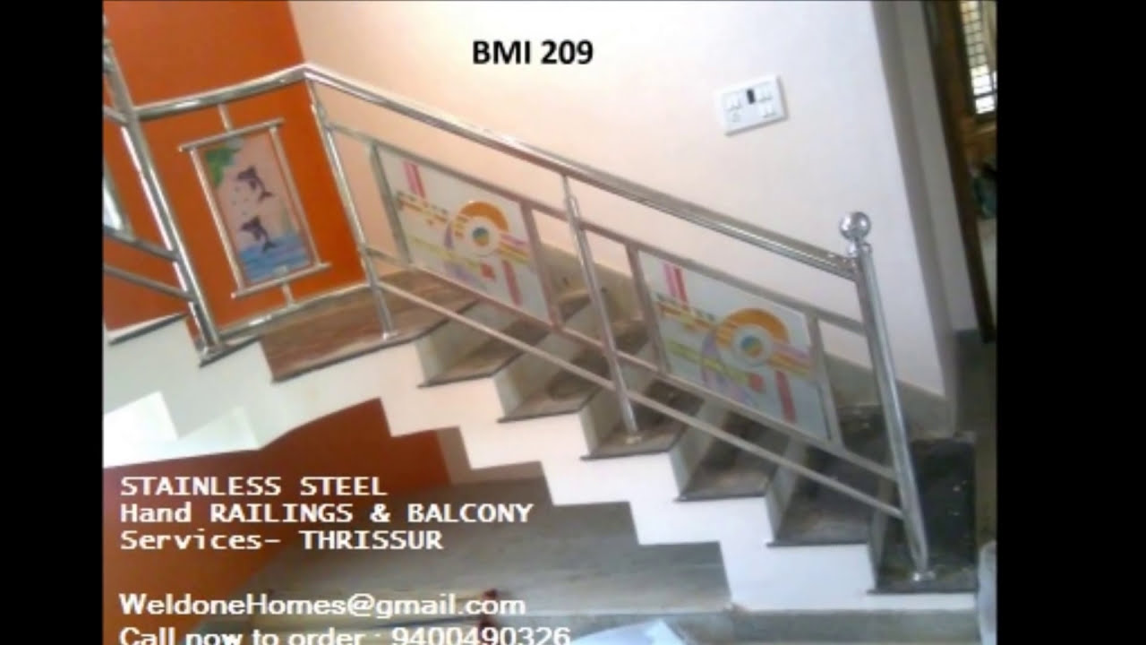 Beautiful hand rails modular kitchens amp wardrobes kerala call 9400490326 thrissur youtube
