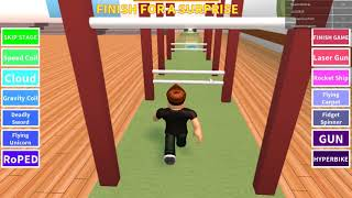 We go to school the second part of the ROBLOX